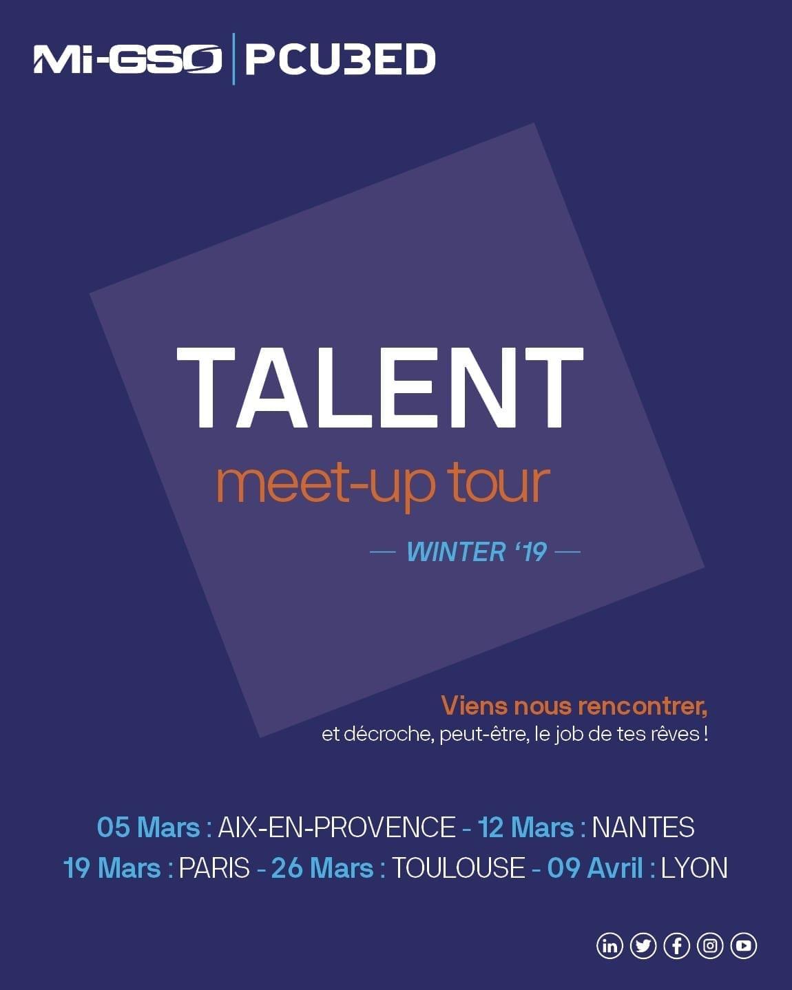 Visual TALENT meet-up tour Winter 19