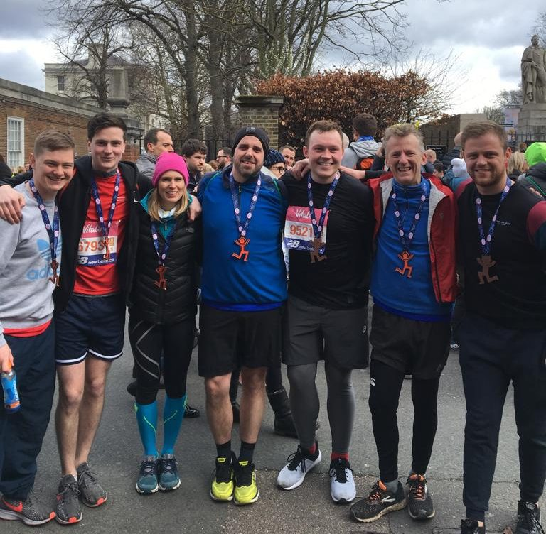 Our consultants running in London