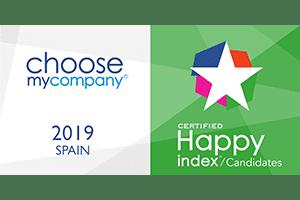 Happy Candidates Espagne 2019 certified logo