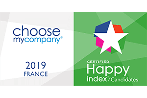 Happy Candidates France 2019 certified