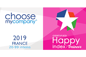 Happy Trainees France 2019 certified logo
