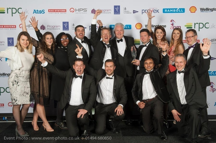 MIGSO PCUBED UK Wins APM 2017 Consultancy of the Year