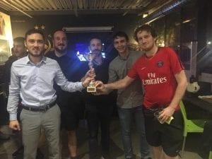 Toulouse Futsal Tournament Winners