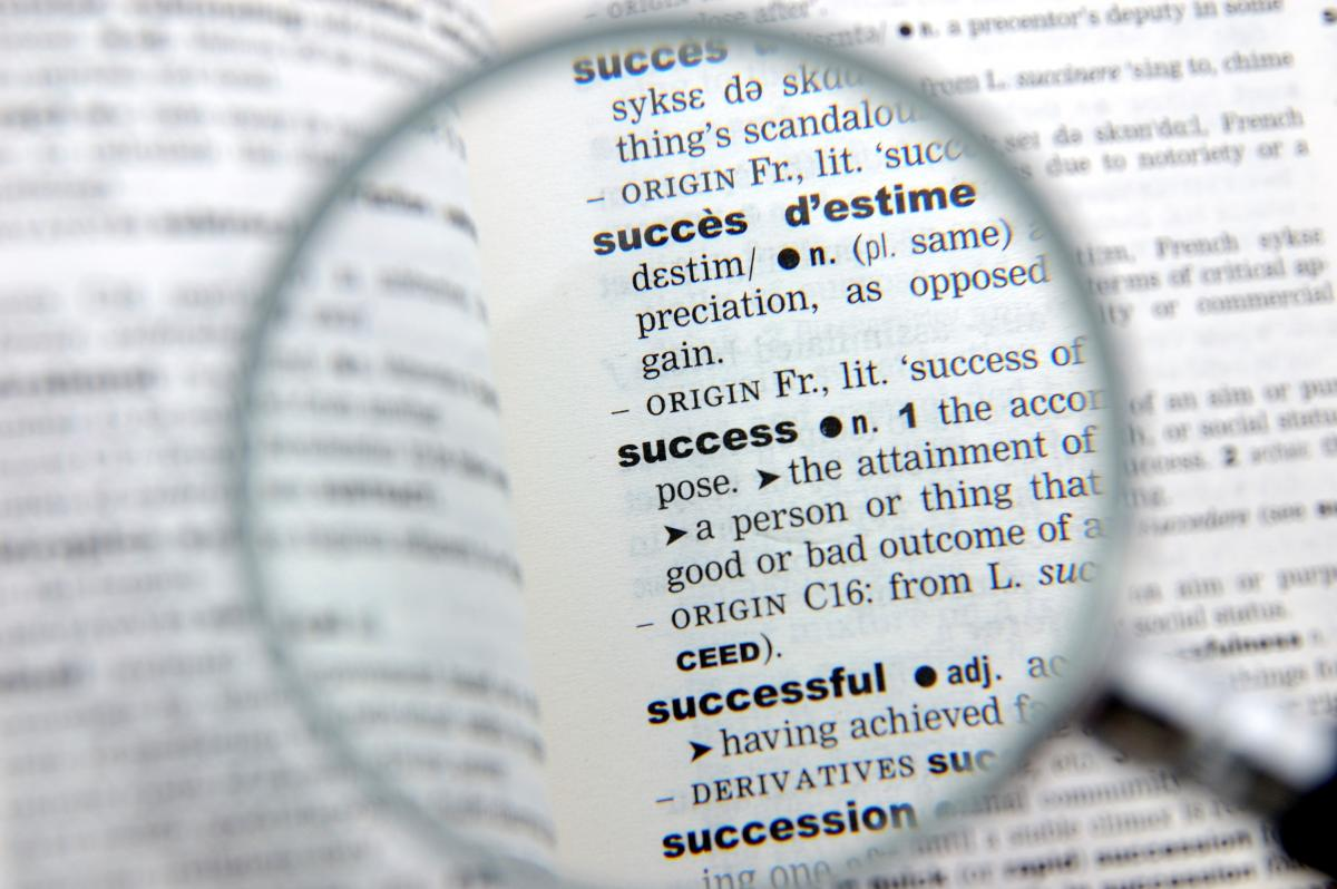Magnifying glass Dictionnary