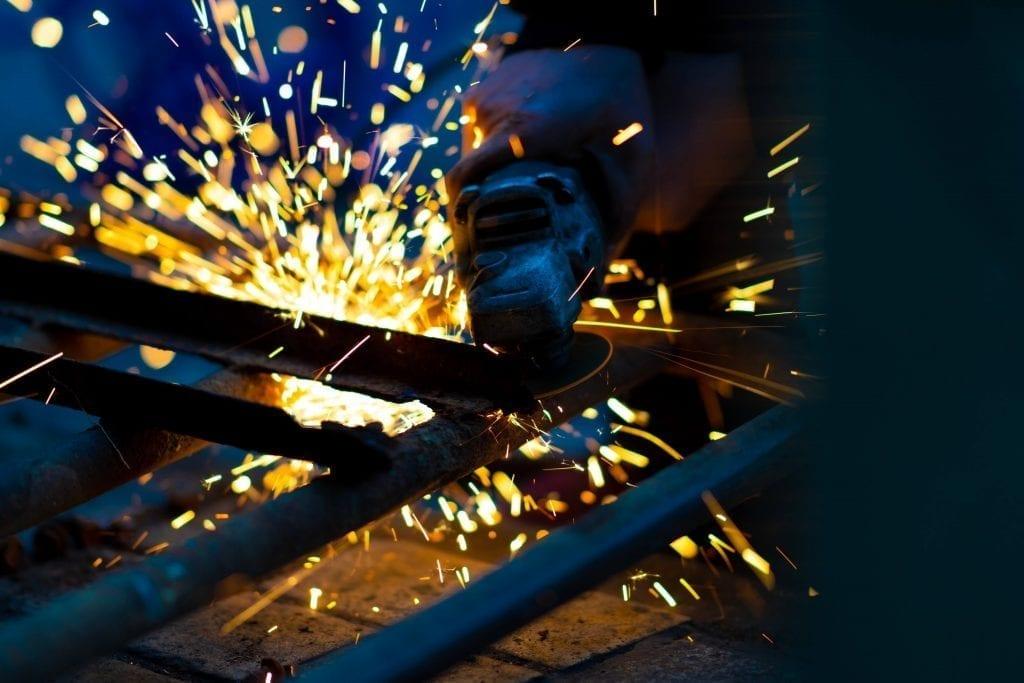 Welder work