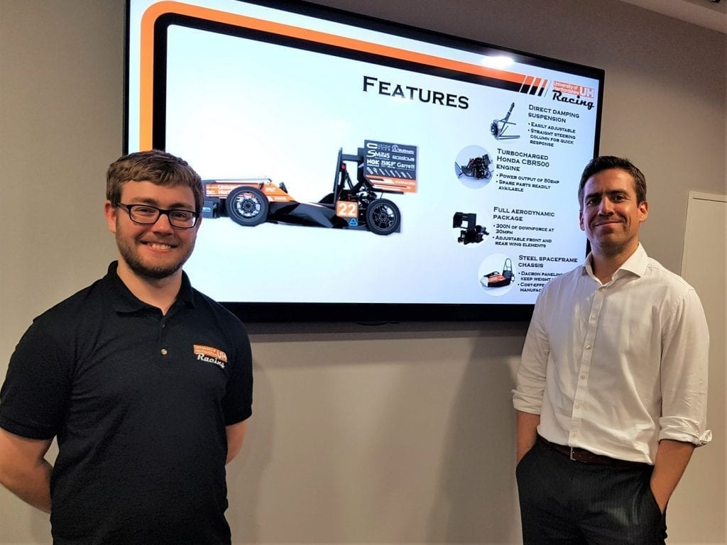 Formula Student at the MI-GSO | PCUBED office