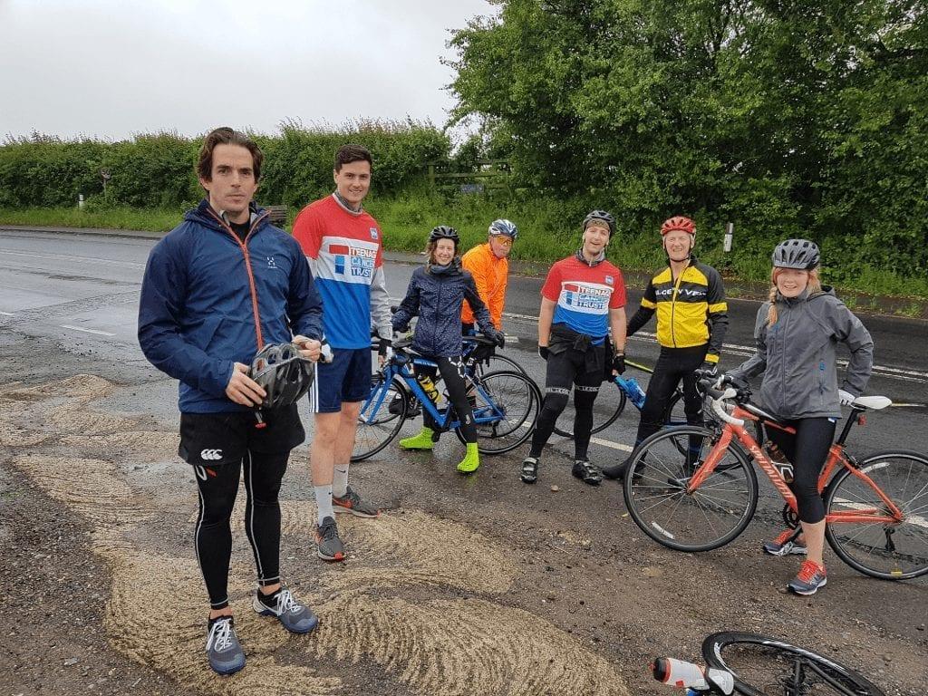 Bristol To London Bike Ride Team