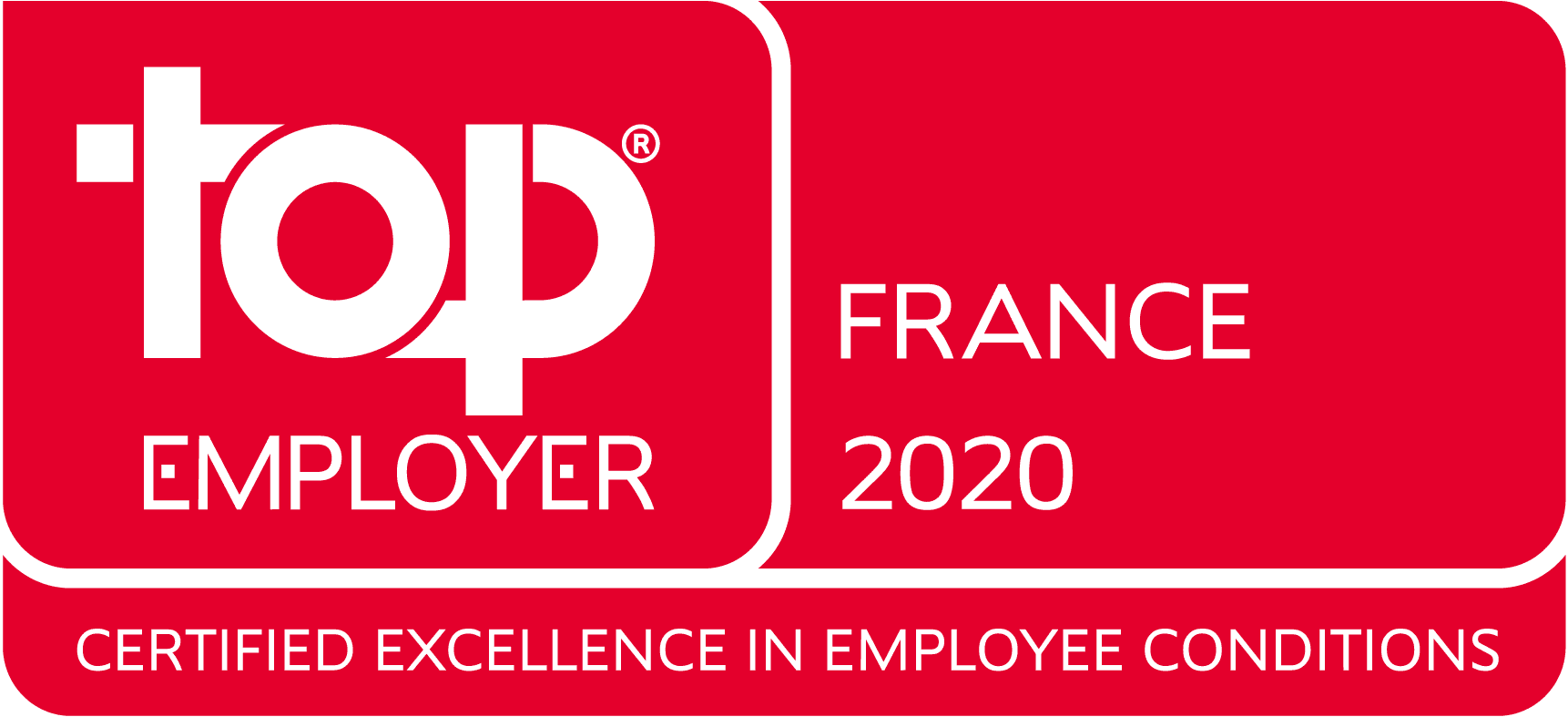 Top Employer France 2020 Logo