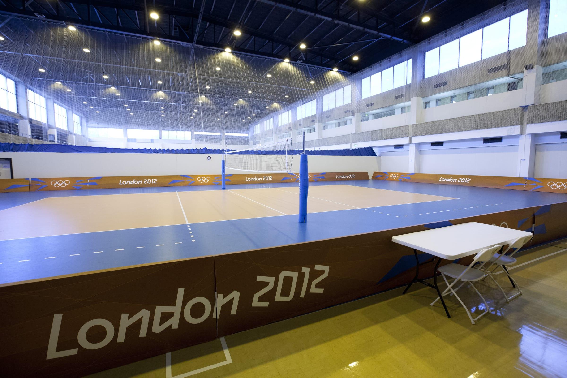 Olympic Training Venue Interior