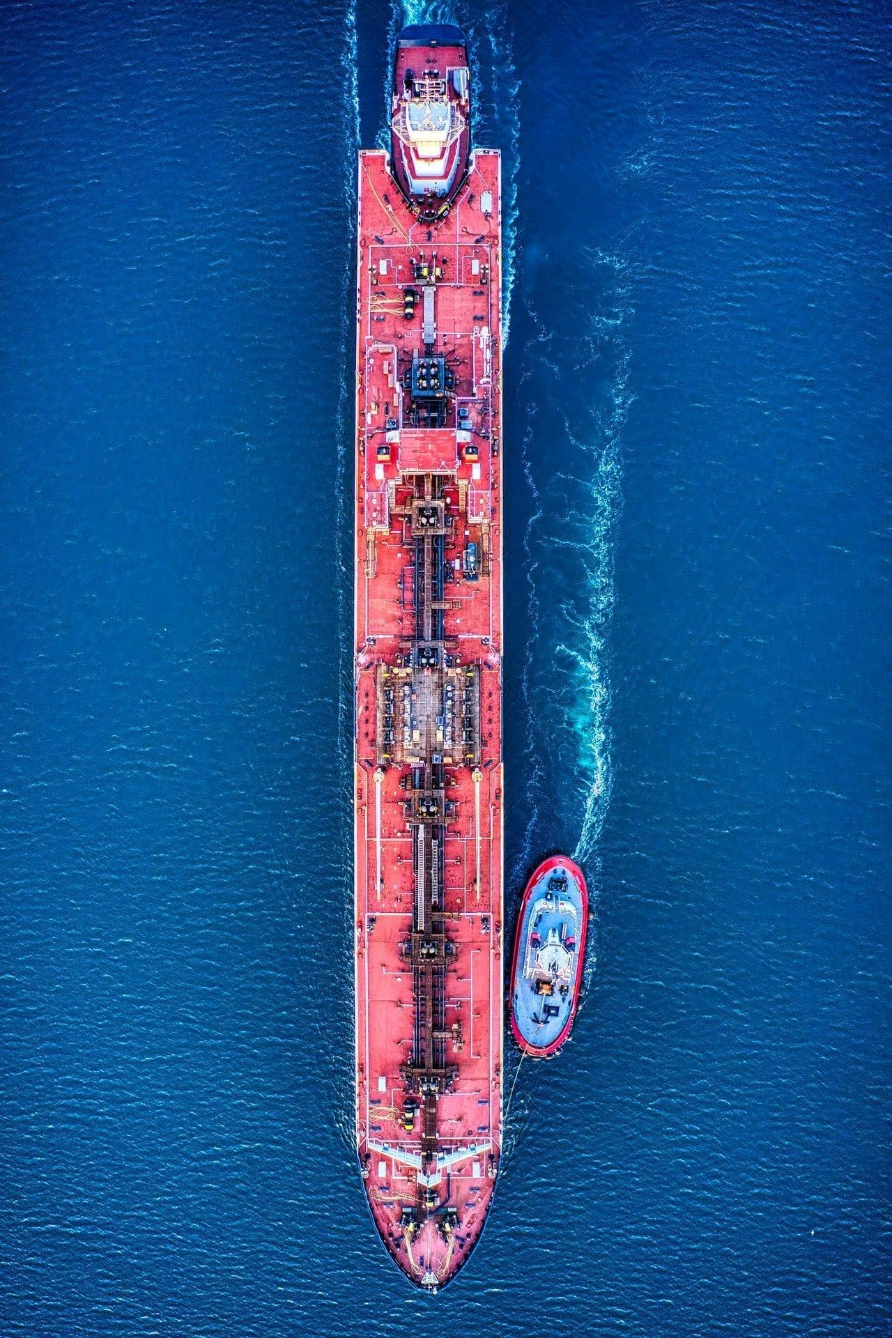 Cargo in the sea