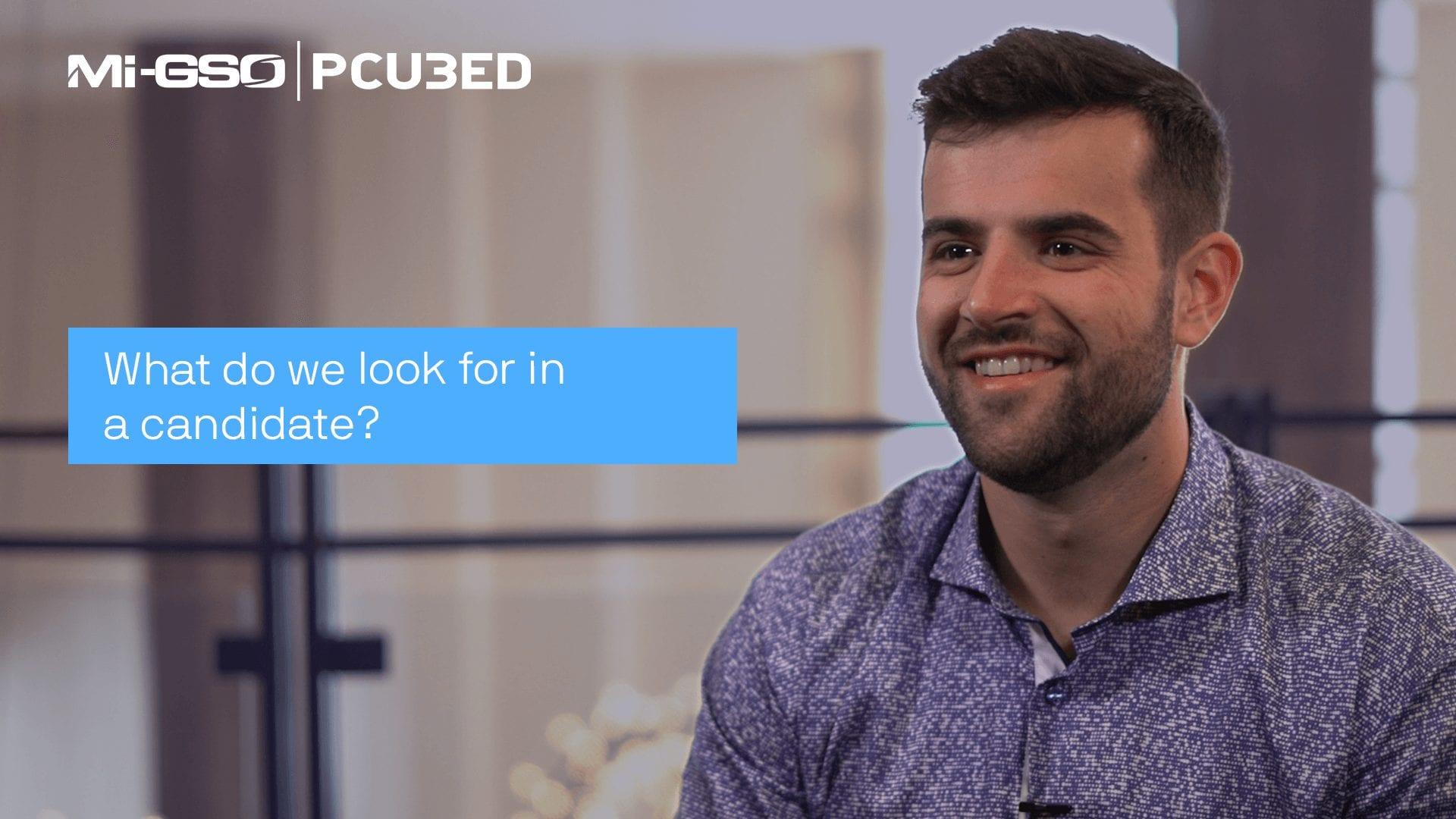 Man in shirt smiling