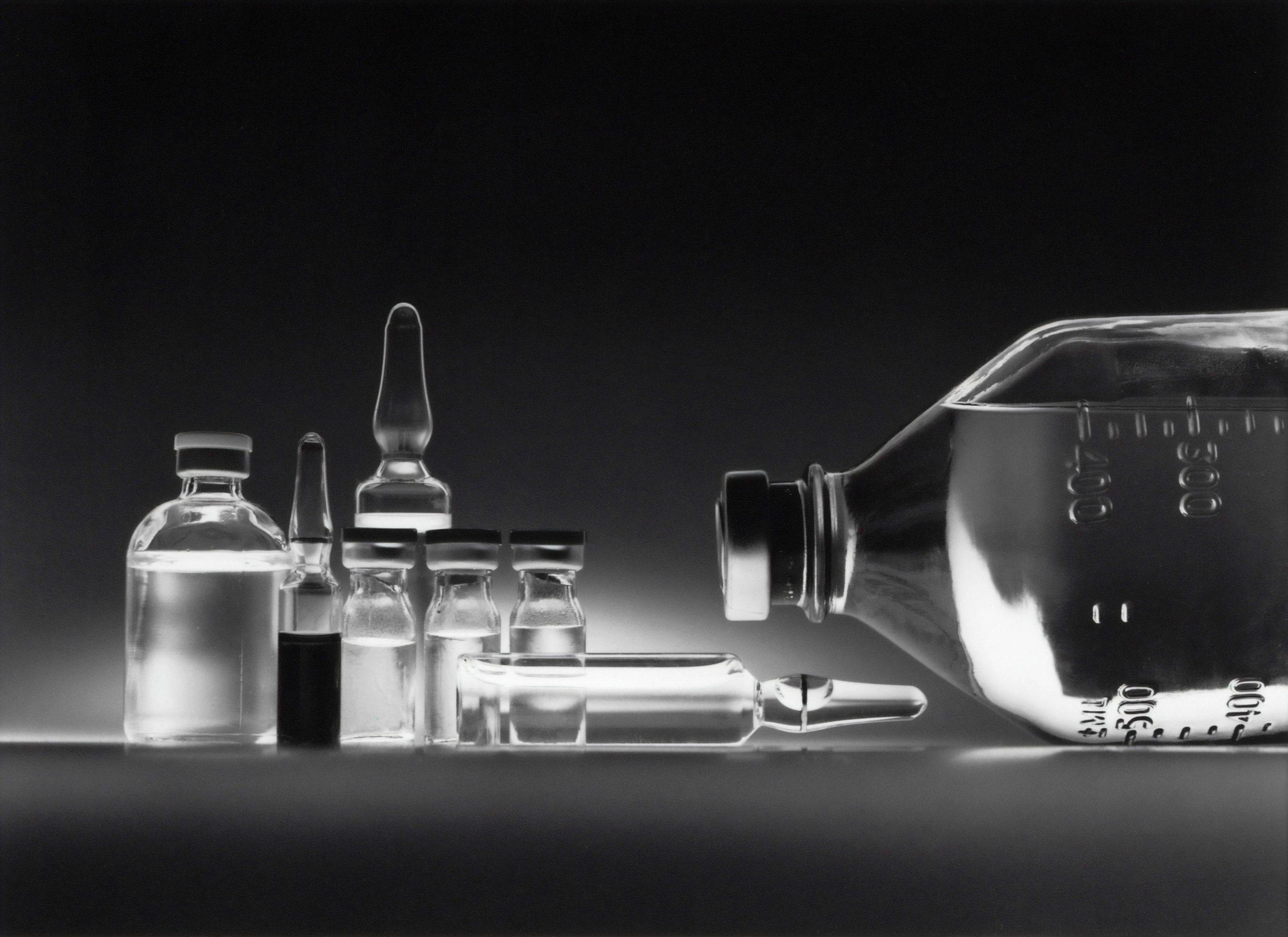 Bottles of medicine