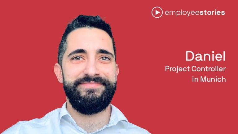 EmployeeStory Daniel Consultant in Munich