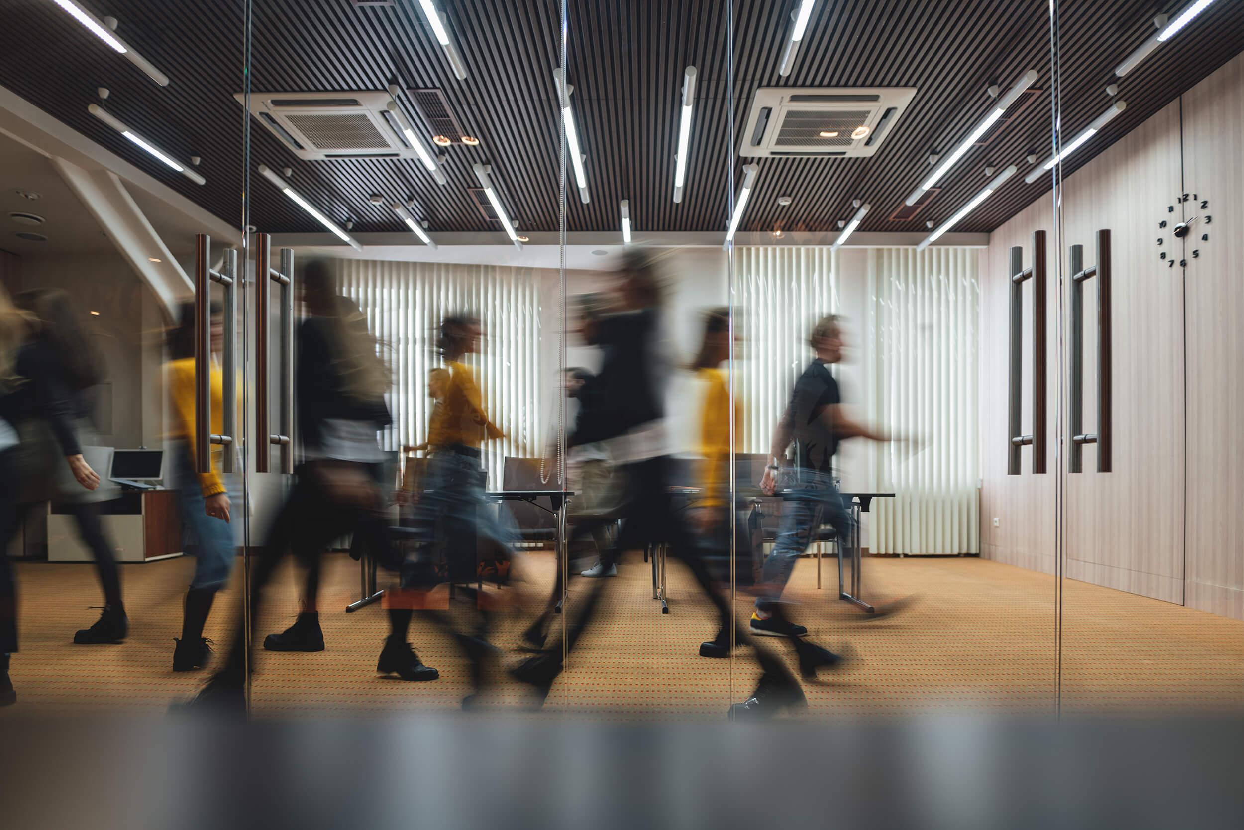 People walking Adobe Stock