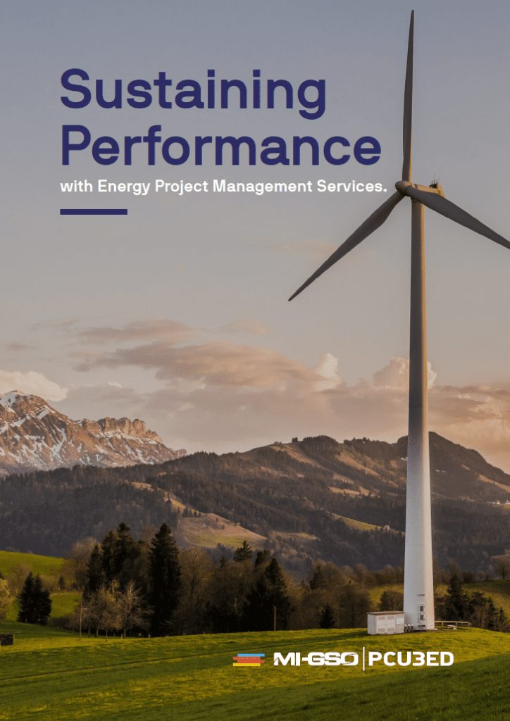 sustaining performance with energy project management services cover